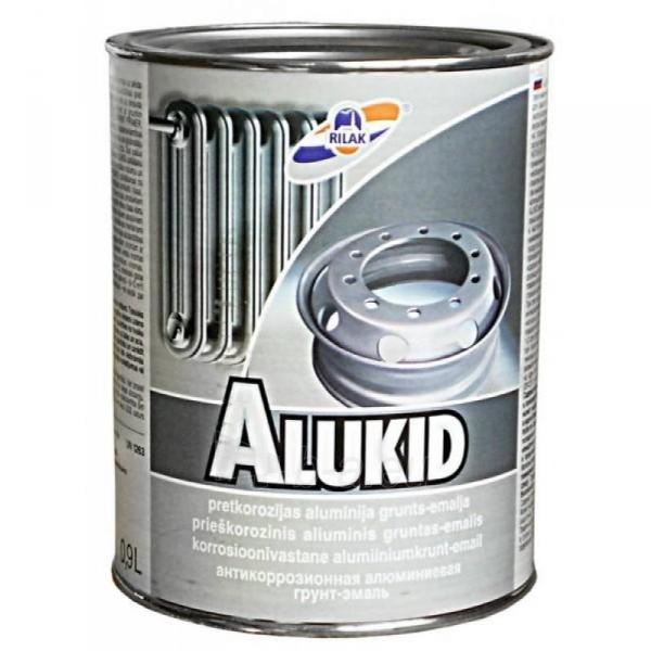 Dažai metalui ALUKID 0,45l Paveikslėlis 1 iš 1 310820016604