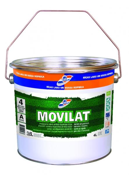 Dažai MOVILAT-4 bazė A 3.6L Paveikslėlis 1 iš 1 236504000113