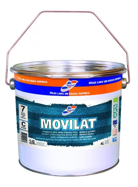 Dažai MOVILAT-7 bazė A 3.6L Paveikslėlis 1 iš 1 236504000116