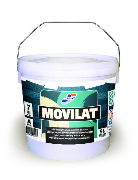 Dažai MOVILAT-7 bazė A 9L Paveikslėlis 1 iš 1 236504000117