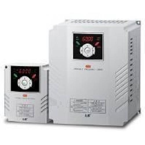 Dažnio keitiklis SV150IG5A-4 iG5A 15kW; išėjimas: 30A; IP20 Paveikslėlis 1 iš 1 222730000095