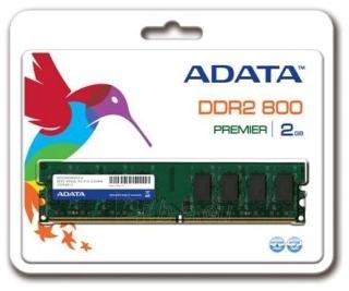 DDR2 Adata 2GB 800MHz CL6 DIMM 1.8V Paveikslėlis 1 iš 1 250255112105