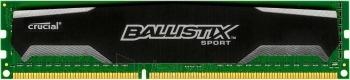 DDR3 Crucial Ballistix Sport 8GB 1600MHz CL9 1.5V Paveikslėlis 1 iš 1 250255112273
