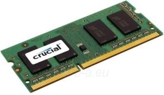 DDR3 SODIMM Crucial 8GB 1600MHz CL11 1.35V/1.5V Paveikslėlis 1 iš 1 250255112165