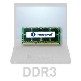 DDR3 SODIMM Integral 4GB 1333MHz CL9 1.5V Paveikslėlis 1 iš 1 250255112123