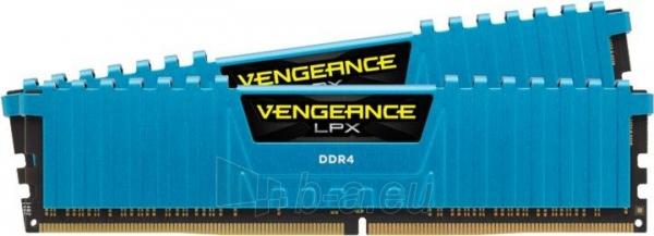 DDR4 Corsair Vengeance LPX Blue 16GB (2x8GB) 3000MHz CL15 1.35V Paveikslėlis 1 iš 1 310820015749
