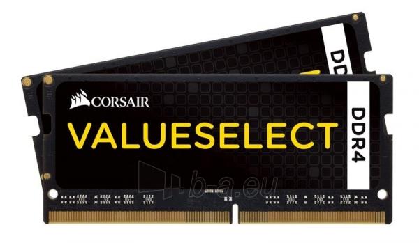 DDR4 SODIMM Corsair Vengeance 16GB (2x8GB) 2133MHz CL15 1.20V Paveikslėlis 1 iš 1 310820015743