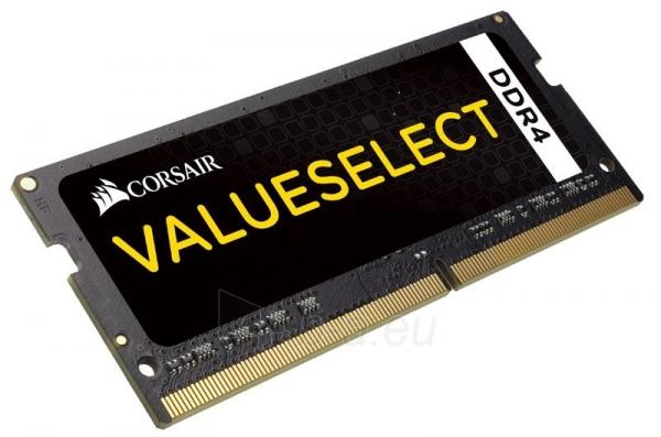 DDR4 SODIMM Corsair Vengeance 8GB 2133MHz CL15 1.20V Paveikslėlis 1 iš 1 310820015745