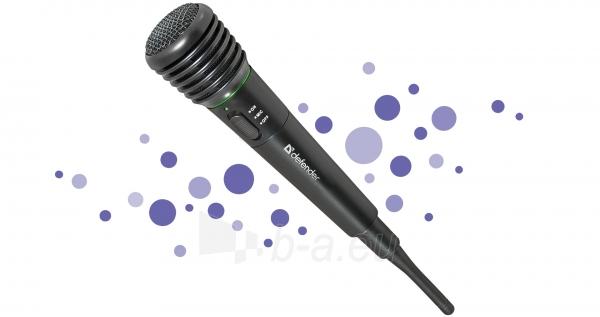 DEFENDER Wireless karaoke microphone Paveikslėlis 1 iš 1 310820002153