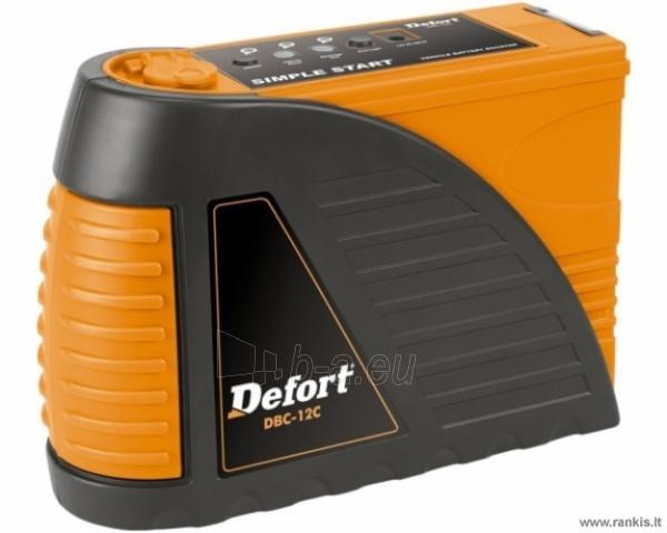 DEFORT DBC-12C akumuliatorių kroviklis Paveikslėlis 1 iš 1 310820017726