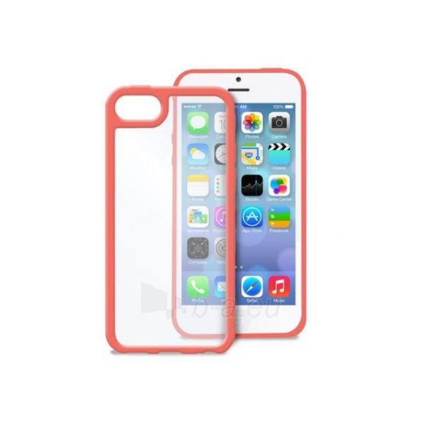 Dėklas Apple iPhone 5c PURO Clear rozā krāsā - pink Paveikslėlis 1 iš 1 310820012750