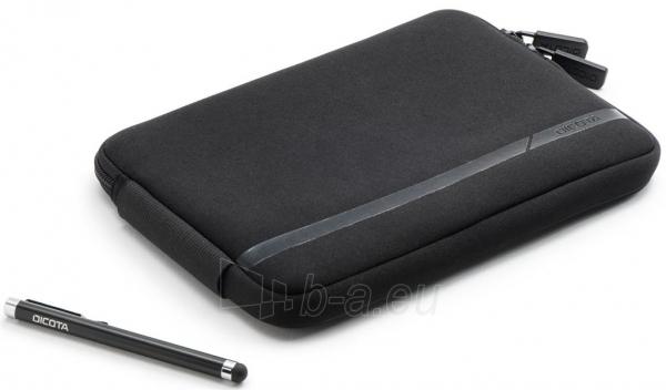 Dėklas Dicota skirtas 7 planš. kompiuteriui  rašiklis   Juodas Paveikslėlis 2 iš 7 250256202841