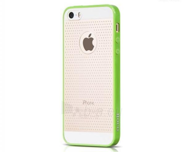 Dėklas HOCO Apple iPhone 5/5S Steel Series Breathing Shell HI-P026 green HOCO Paveikslėlis 1 iš 1 310820012762