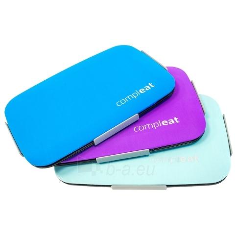 Dėklas maistui su silikoniniu dangteliu FoodSkin, violetinis Paveikslėlis 5 iš 7 310820012548