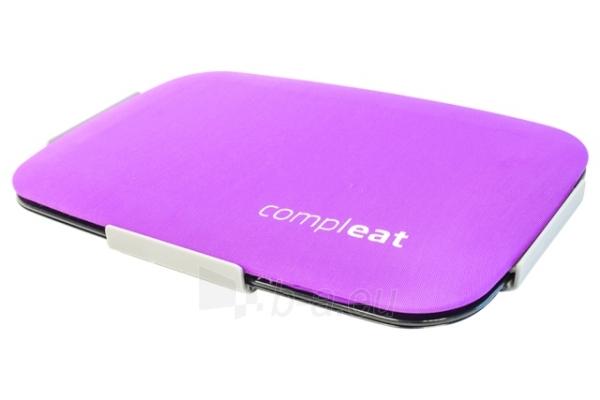 Dėklas maistui su silikoniniu dangteliu FoodSkin, violetinis Paveikslėlis 6 iš 7 310820012548
