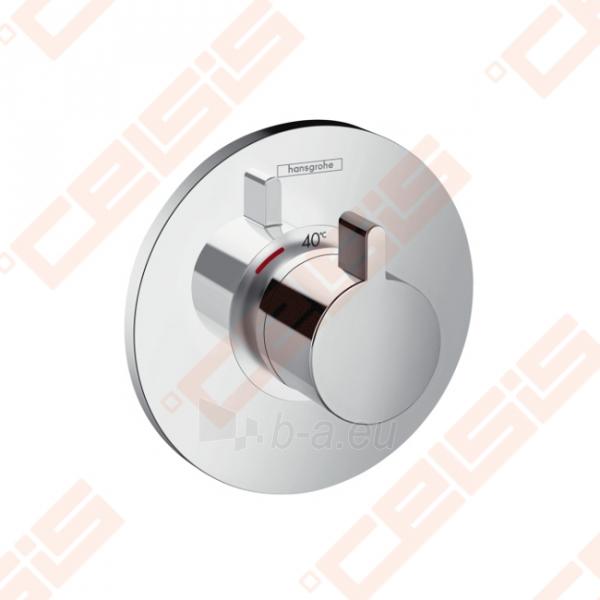 Dekoratyvinė dalis termostatiniam dušo maišytuvui HANSGROHE Ecostat S highflow 59l/min Paveikslėlis 1 iš 3 270721000579