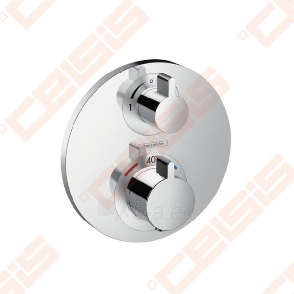Dekoratyvinė dalis termostatiniam dušo maišytuvui HANSGROHE Ecostat S su dviem funkcijomis Paveikslėlis 1 iš 2 270721000580