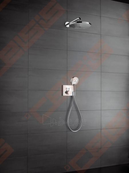 Dekoratyvinė dalis termostatiniam dušo maišytuvui HANSGROHE Select dviems taškams su laikikliu Paveikslėlis 4 iš 4 270721000585