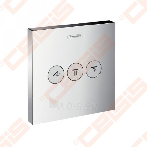 Dekoratyvinė dalis termostatiniam dušo maišytuvui HANSGROHE Select highflow trims taškams Paveikslėlis 1 iš 4 270721000587