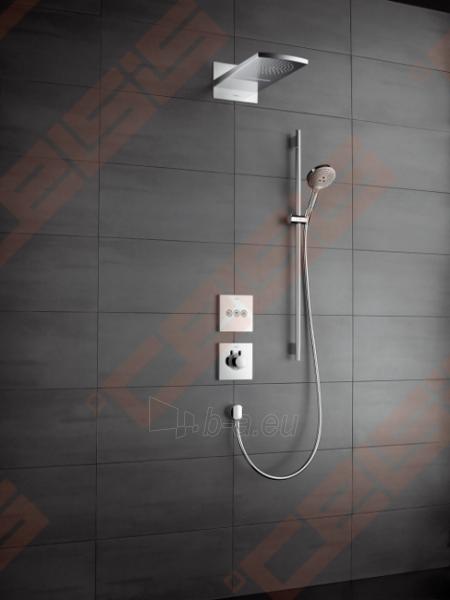 Dekoratyvinė dalis termostatiniam dušo maišytuvui HANSGROHE Select highflow Paveikslėlis 3 iš 5 270721000586