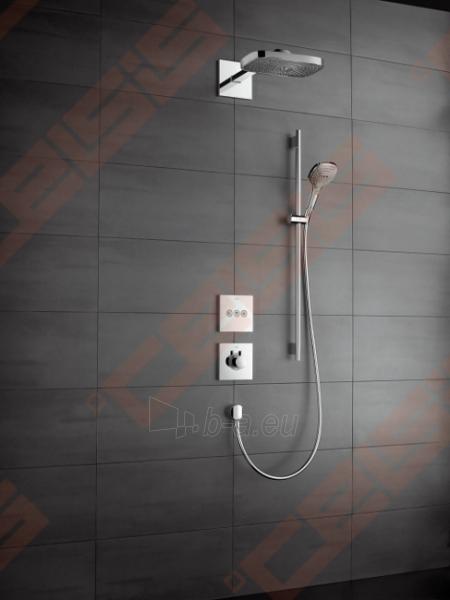 Dekoratyvinė dalis termostatiniam dušo maišytuvui HANSGROHE Select highflow Paveikslėlis 4 iš 5 270721000586