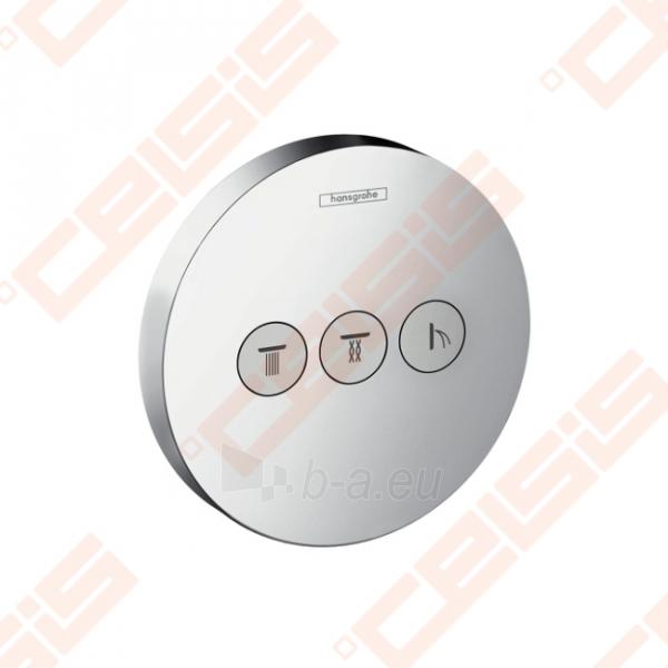 Dekoratyvinė dalis termostatiniam dušo maišytuvui HANSGROHE Select S trims taškams Paveikslėlis 1 iš 2 270721000591