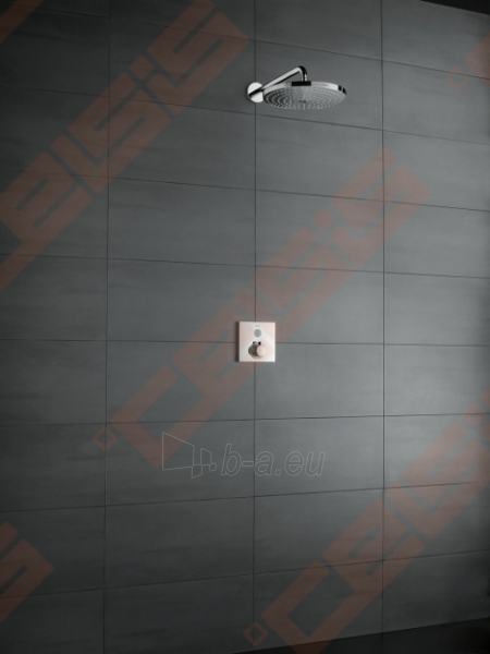 Dekoratyvinė dalis termostatiniam dušo maišytuvui HANSGROHE Select Paveikslėlis 4 iš 5 270721000583