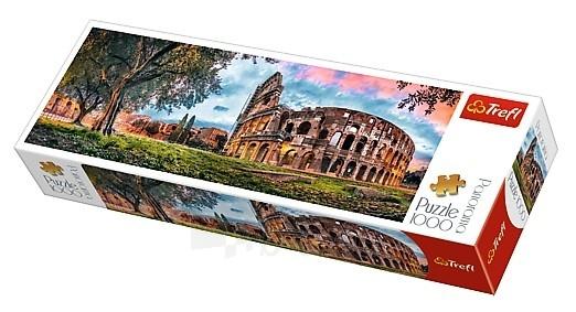 Dėlionė 29030 Trefl Colosseum at dawn - 1000 pieces panoramic puzzle Paveikslėlis 1 iš 2 310820048821