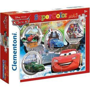 Dėlionė CLEMENTONI PZL Maxi 24 Cars 24432 Paveikslėlis 1 iš 1 310820005520
