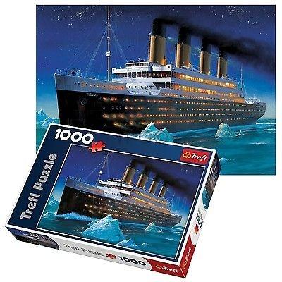 Dėlionė Trefl 10080 - Titanic - 1000 pieces Paveikslėlis 1 iš 2 310820048803