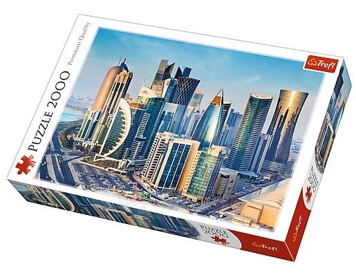 Dėlionė TREFL 27084 Puzzle Doha, Qatar 2000 шт. Paveikslėlis 1 iš 2 310820047953