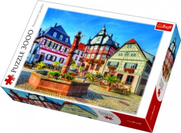 Dėlionė Trefl 33052 - Market Square, Heppenheim - 3000 pieces puzzle Paveikslėlis 1 iš 2 310820047948