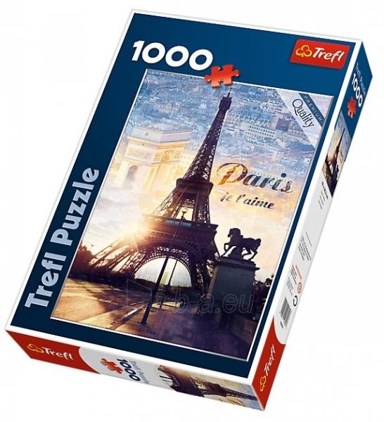 Dėlionė TREFL  Париж, 1000 шт. 10394 Paveikslėlis 1 iš 2 250710100585