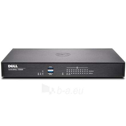 Dell SonicWALL TZ 600 Network Security Firewall Paveikslėlis 1 iš 5 250257501530