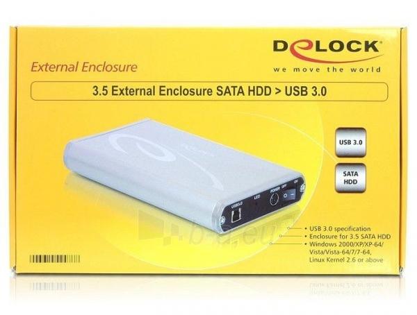 Delock 3.5 External enclosure SATA HDD > USB 3.0 Paveikslėlis 7 iš 7 250255521742