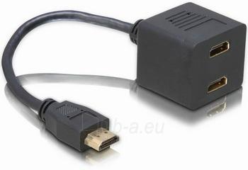 Delock adapteris HDMI->2x HDMI Paveikslėlis 1 iš 1 250255081374