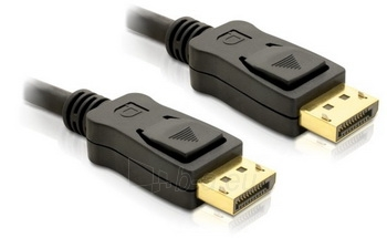 Delock kabelis Displayport M/M 3m gold Paveikslėlis 1 iš 1 250255081414