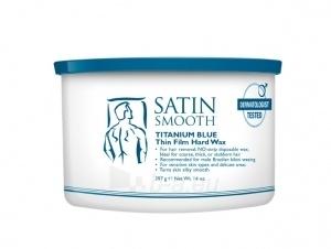 Depiliacijos kremas Satin Smooth Titanium Blue (Thin Film Hard Wax) 400 ml Paveikslėlis 1 iš 1 310820050311