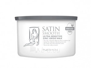 Depiliacinis vaškas Satin Smooth (Ultra Sensitive Zinc Oxide Wax) 400 ml Paveikslėlis 1 iš 1 310820069621