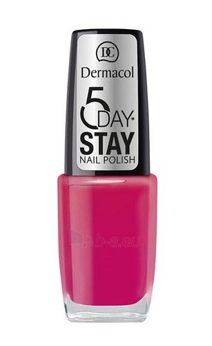 Dermacol 5 Day Stay Nail Polish Cosmetic 10ml Nr.8 Paveikslėlis 1 iš 1 250874000570