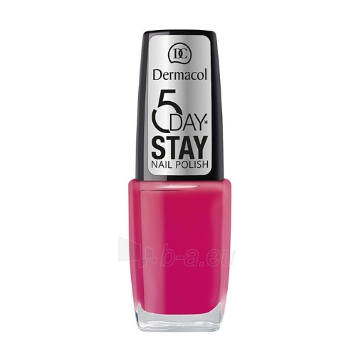 Dermacol 5 Day Stay Nail Polish Cosmetic 10ml Nr.2 Paveikslėlis 1 iš 1 250874000567