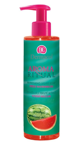 Dermacol Aroma Ritual Liquid Soap Fresh Watermelon Cosmetic 250ml Paveikslėlis 1 iš 1 310820024003
