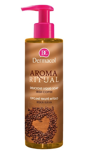 Dermacol Aroma Ritual Liquid Soap Irish Coffee Cosmetic 250ml Paveikslėlis 1 iš 1 310820024004