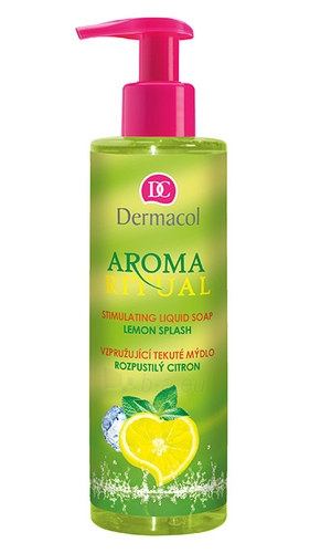 Dermacol Aroma Ritual Liquid Soap Lemon Splash Cosmetic 250ml Paveikslėlis 1 iš 1 310820024002