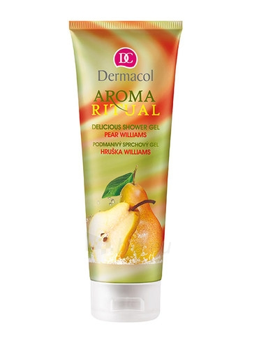Dermacol Aroma Ritual Shower Gel Pear Williams Cosmetic 250ml Paveikslėlis 1 iš 1 2508950001149
