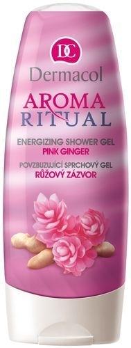 Dermacol Aroma Ritual Shower Gel Pink Ginger Cosmetic 250ml Paveikslėlis 1 iš 1 2508950000023
