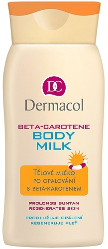 Dermacol Beta-Caroten Body Milk Cosmetic 200ml Paveikslėlis 1 iš 1 250850200611