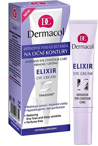 Dermacol Elixir Eye Cream Intensive Eye Contour Cosmetic 15ml Paveikslėlis 1 iš 1 250840800240