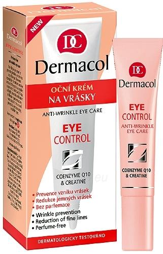Dermacol Eye Control-Anti-wrinkle Eye Care Cosmetic 15ml Paveikslėlis 1 iš 1 250840800241