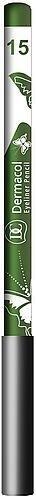Dermacol Eyeliner No.15 green Cosmetic 1,6g Paveikslėlis 1 iš 1 2508713000089